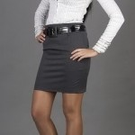 В одежде делового стиля нет места блузам с глубоким декольте