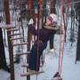 Индивидуальное задание из высокого блока веревочного курса